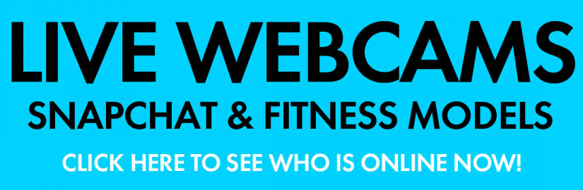fitness models on webcams ad