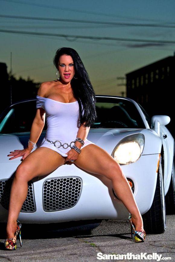 Samantha Kelly Not Wearing Panties
