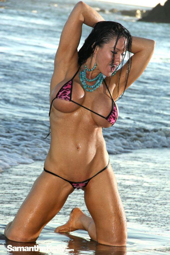 Samantha Kelly Big Boobs Bikini