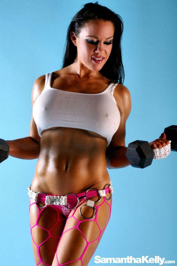 Samantha Kelly Extreme Bicep