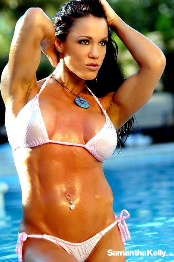Samantha Kelly Lean Muscle Bikini Shoot