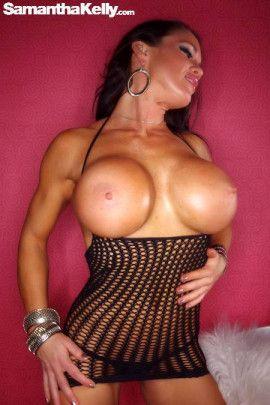 Samantha Kelly Peek a Boo Dress Topless
