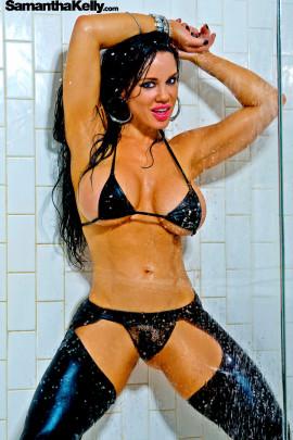 Samantha Kelly Big Wet Boobs
