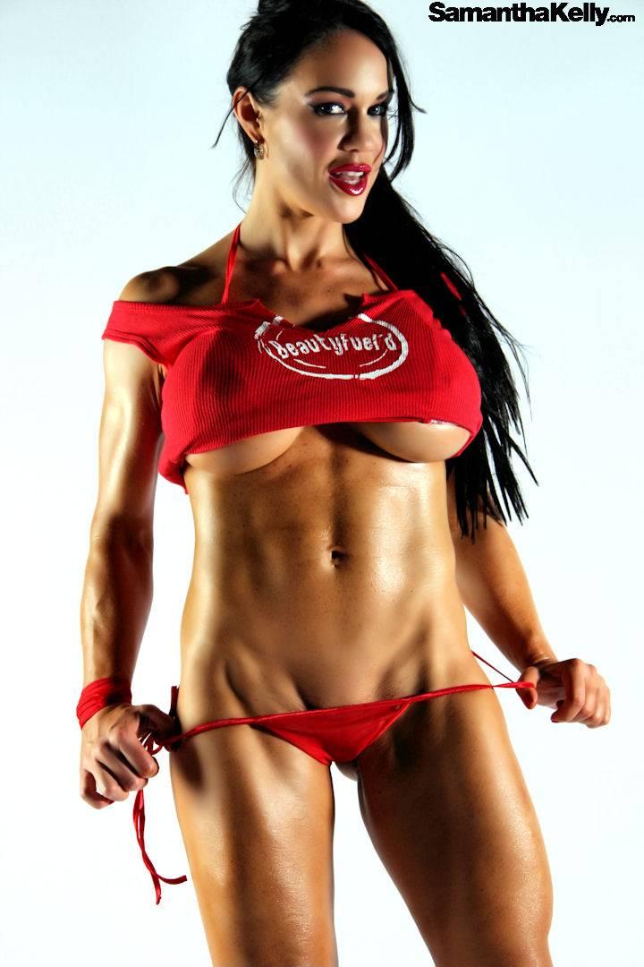 Samantha Kelly sexy tight abs thumb 3