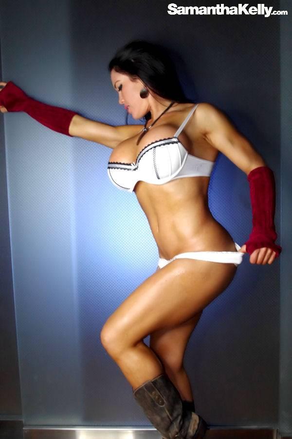 Samantha Kelly busty hot brunette model thumb 1