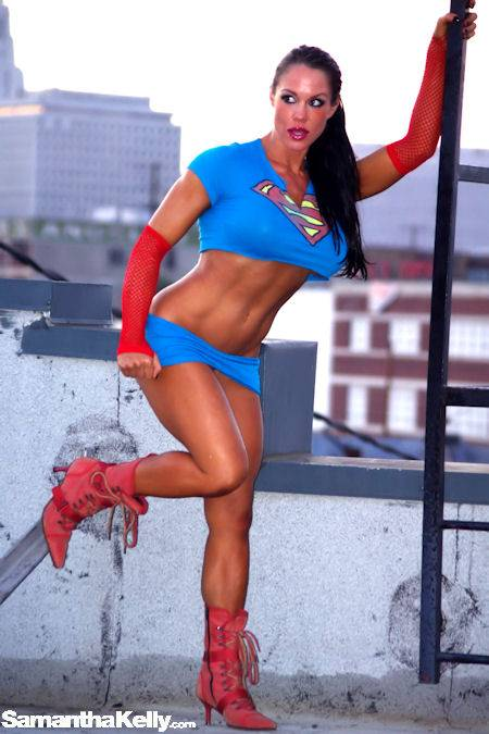 Samantha Kelly Busty Super Girl thumb 2