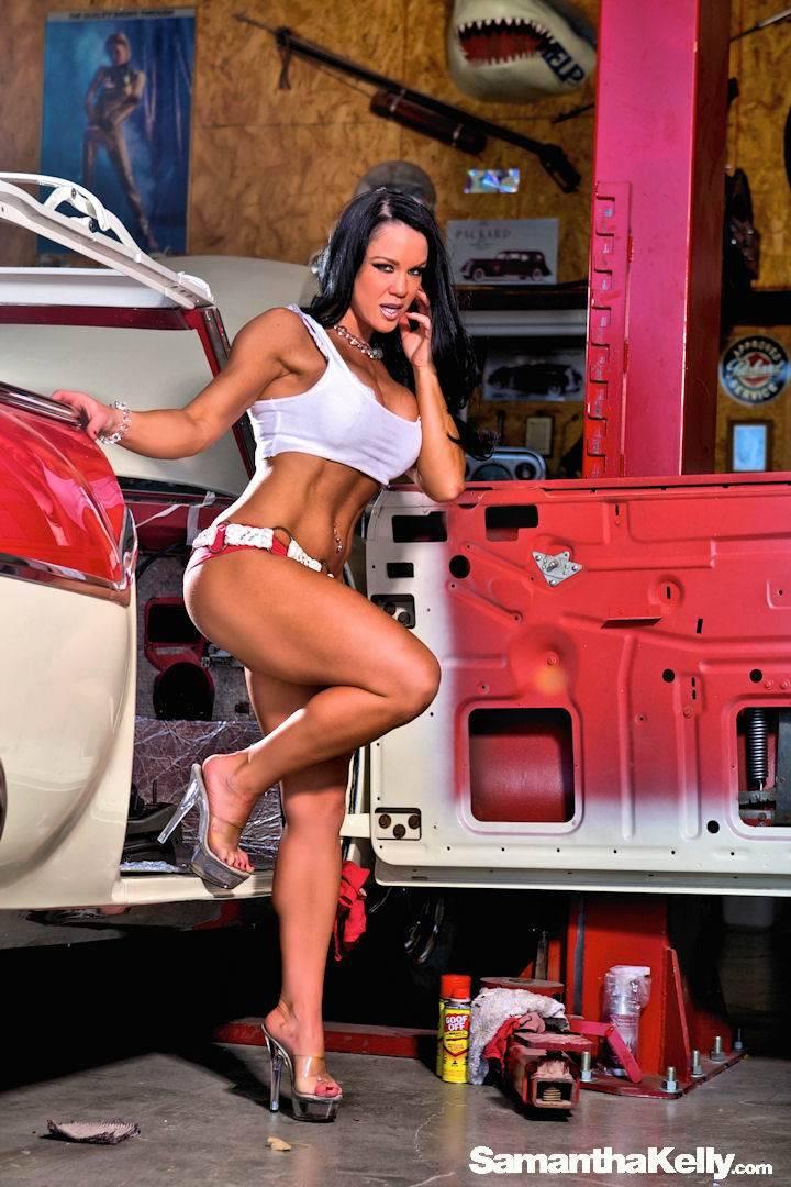 Samantha Kelly Hot in My Garage thumb 2