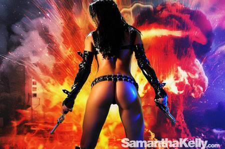 Samantha Kelly La Femme Terminator Topless thumb 3