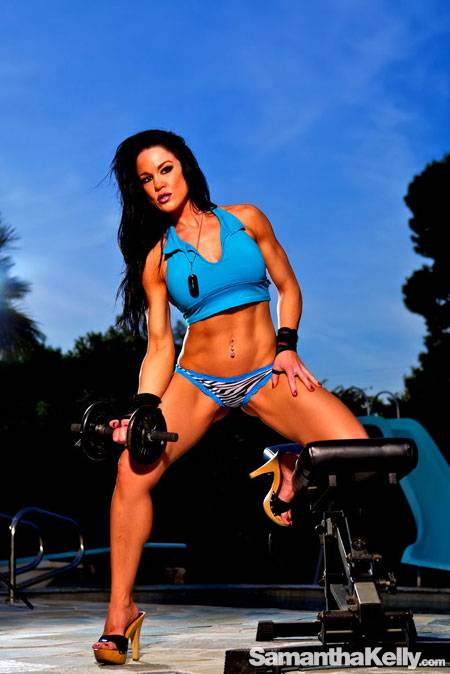 Samantha Kelly Muscle Twilight Shoot thumb 2