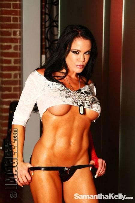 Samantha Kelly Muscle Vixen Topless thumb 3