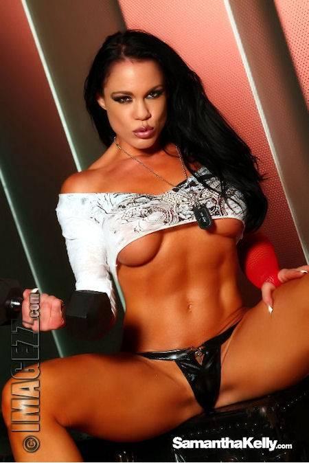 Samantha Kelly Muscle Vixen Topless thumb 1