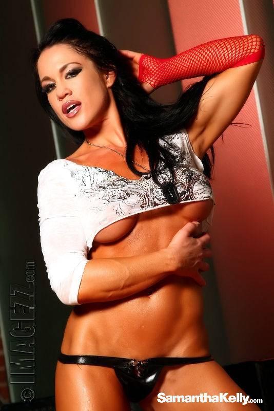 Samantha Kelly Muscle Vixen Topless thumb 2