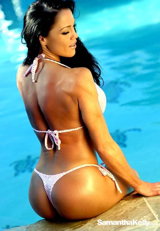 Samantha Kelly Lean Muscle Bikini Shoot thumb 3