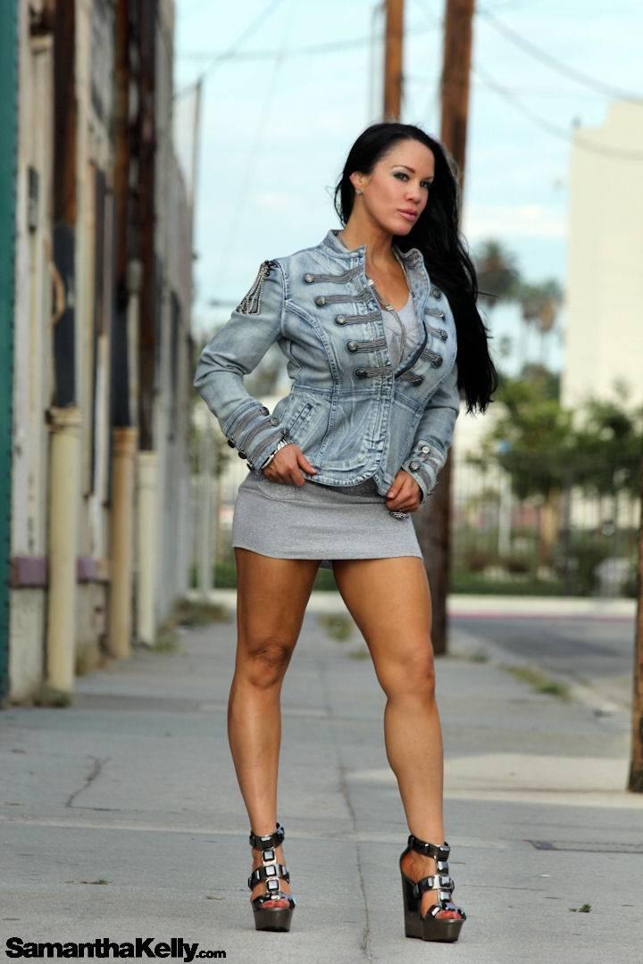 Samantha Kelly peek-a-boo fashion shoot thumb 1