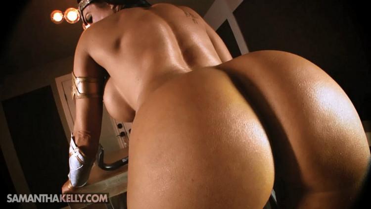 Busty Nude Wonder Woman Fantasy