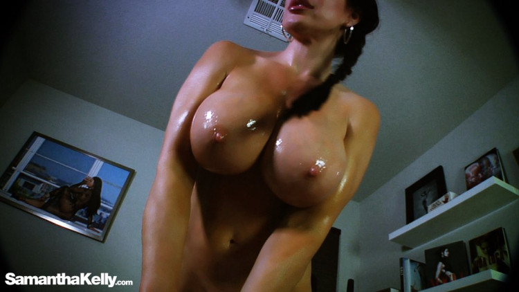 Huge Titty and Big Shiny Lips Obsession