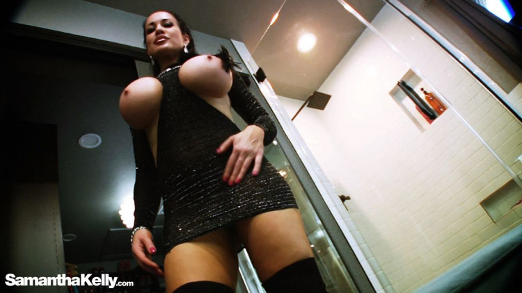 Private Fashion Show XXX Flexing and Fucking Strap On Cock