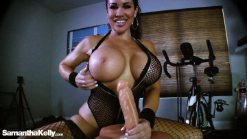 Huge Tits Big Dick Sex Toy Extreme Handjob